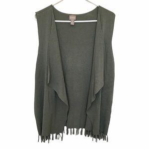 Chico's Open Front Sweater Vest
